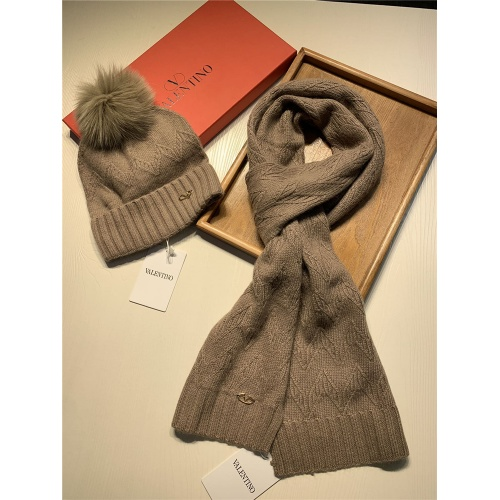 Replica Valentino Scarf & Hat Set #825125 $56.00 USD for Wholesale