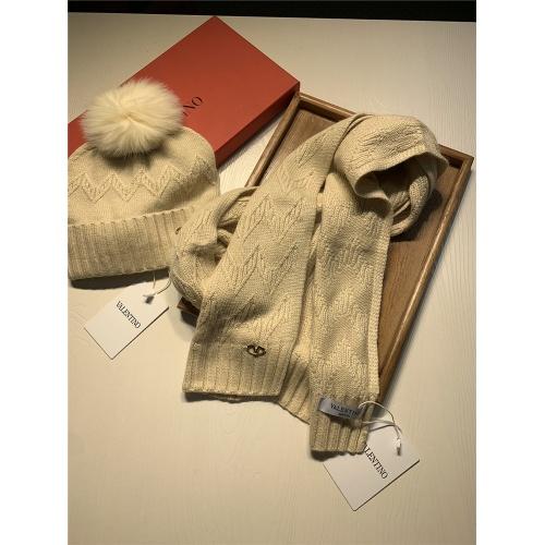 Replica Valentino Scarf & Hat Set #825126 $56.00 USD for Wholesale