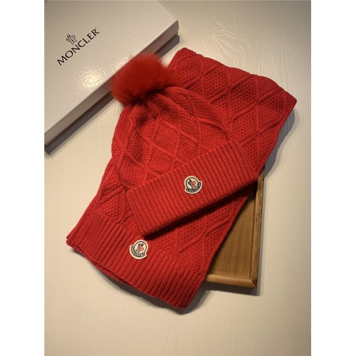 Moncler Scarf & Hat Set #825131