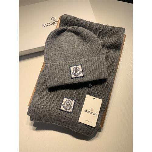 Moncler Scarf & Hat Set #825139