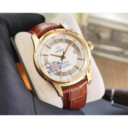 OMEGA AAA Quality Watches For Men #825187 $231.00 USD, Wholesale Replica OMEGA New Quality Watches