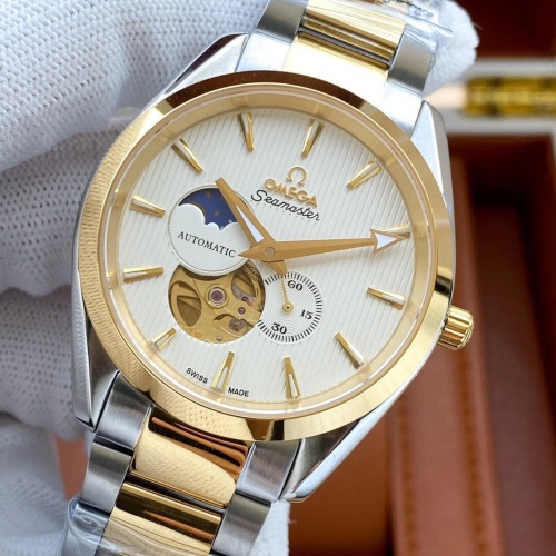 Replica OMEGA AAA Quality Watches For Men #825214 $211.00 USD for Wholesale