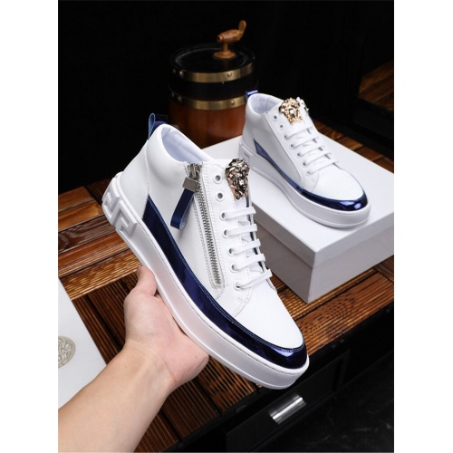 Versace High Tops Shoes For Men #825233