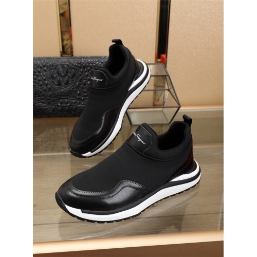 Ferragamo Salvatore FS Casual Shoes For Men #825260