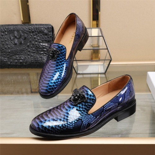 Versace Leather Shoes For Men #825277