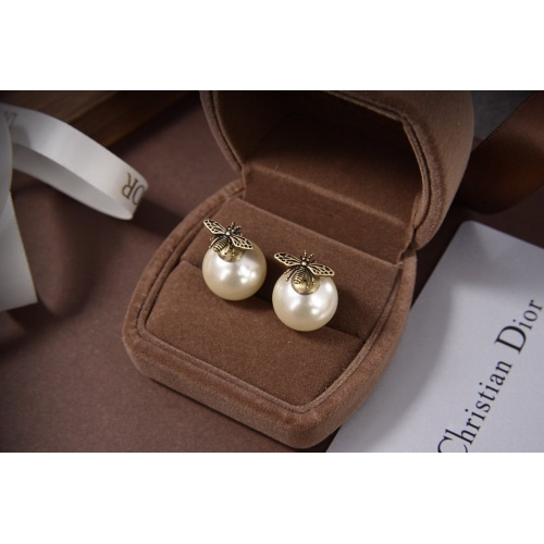 Christian Dior Earrings #825309 $25.00 USD, Wholesale Replica Christian Dior Earrings