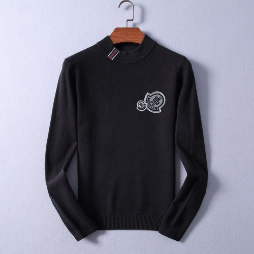 Moncler Sweaters Long Sleeved O-Neck For Men #825366 $48.00, Wholesale Replica Moncler Sweaters