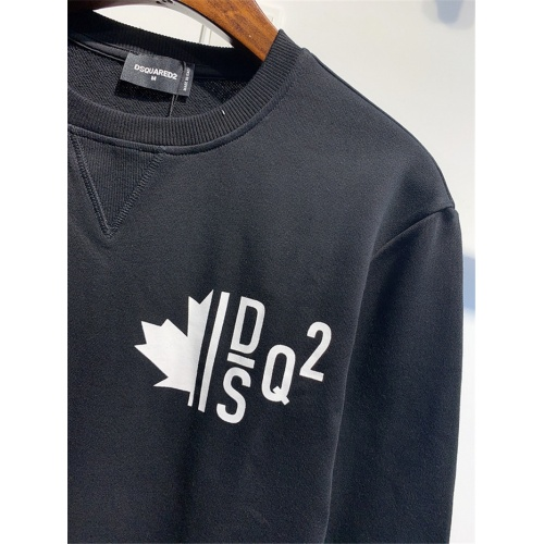 Replica Dsquared Hoodies Long Sleeved O-Neck For Men #825376 $41.00 USD for Wholesale