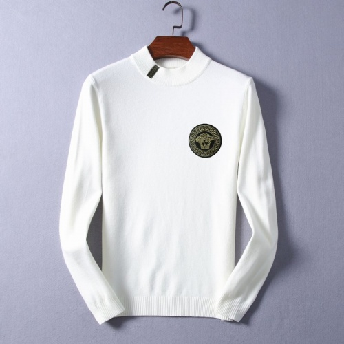 Versace Sweaters Long Sleeved O-Neck For Men #825391