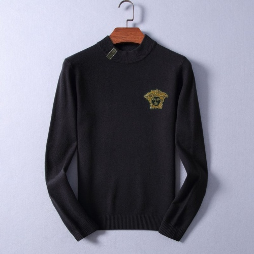 Versace Sweaters Long Sleeved O-Neck For Men #825395