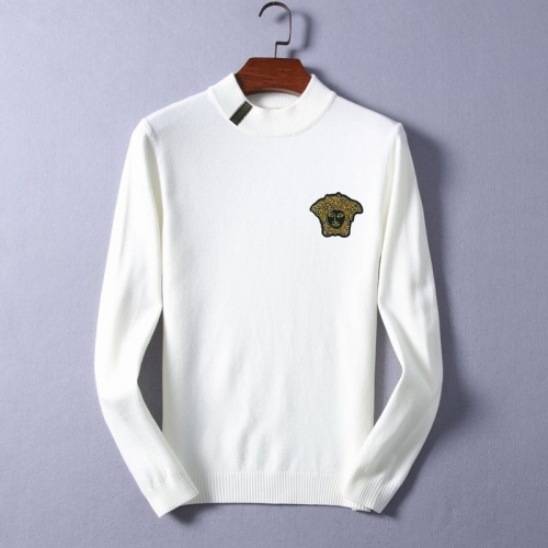 Versace Sweaters Long Sleeved O-Neck For Men #825396
