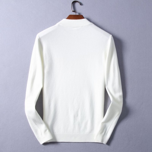 Replica Fendi Sweaters Long Sleeved O-Neck For Men #825409 $48.00 USD for Wholesale