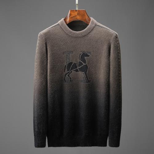 Hermes Sweaters Long Sleeved O-Neck For Men #825414