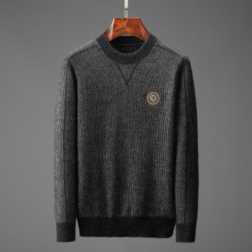 Versace Sweaters Long Sleeved O-Neck For Men #825416