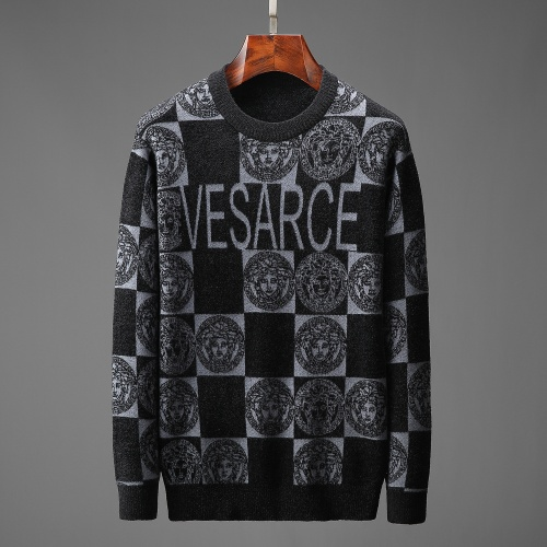 Versace Sweaters Long Sleeved O-Neck For Men #825420