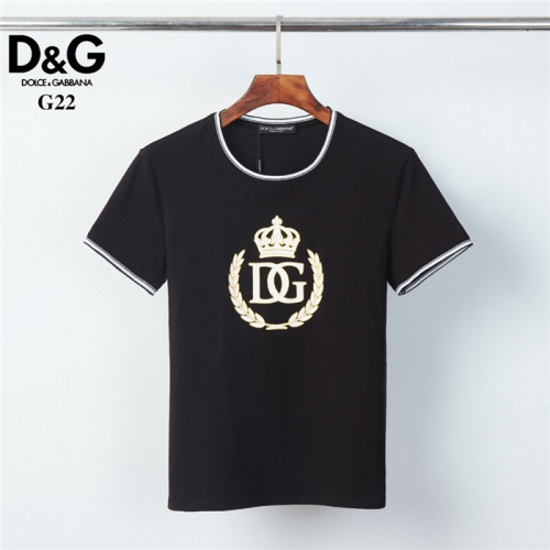 Dolce & Gabbana D&G T-Shirts Short Sleeved O-Neck For Men #825438