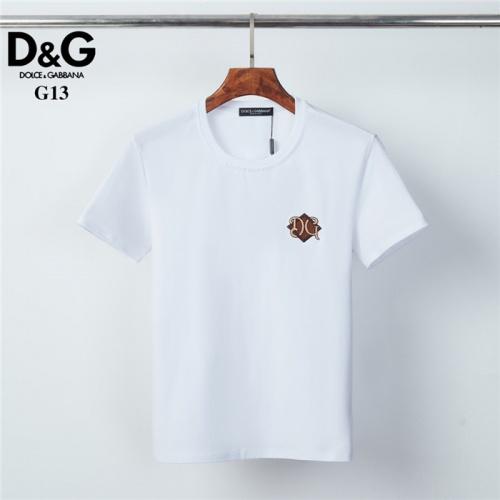 Dolce & Gabbana D&G T-Shirts Short Sleeved O-Neck For Men #825441
