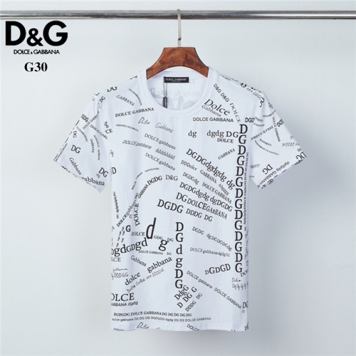 Dolce & Gabbana D&G T-Shirts Short Sleeved O-Neck For Men #825453