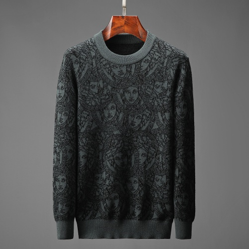 Versace Sweaters Long Sleeved O-Neck For Men #825457
