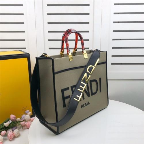 Fendi AAA Quality Tote-Handbags For Women #825469
