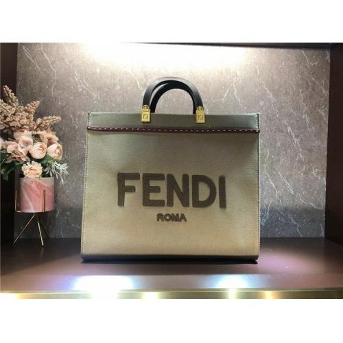 Fendi AAA Quality Tote-Handbags For Women #825476