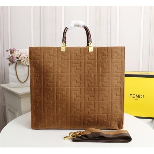 Fendi AAA Quality Tote-Handbags For Women #825479