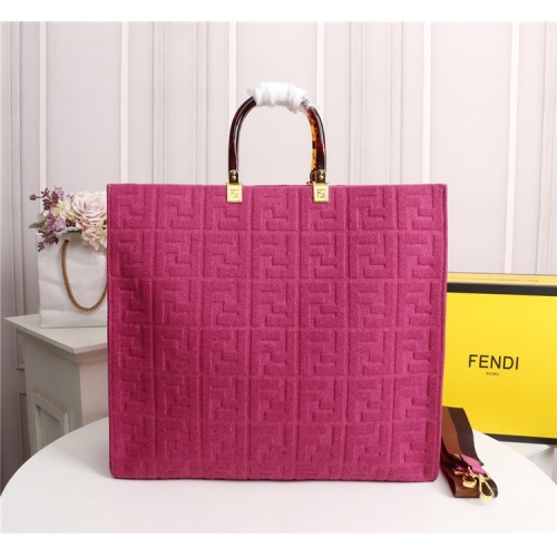 Fendi AAA Quality Tote-Handbags For Women #825480