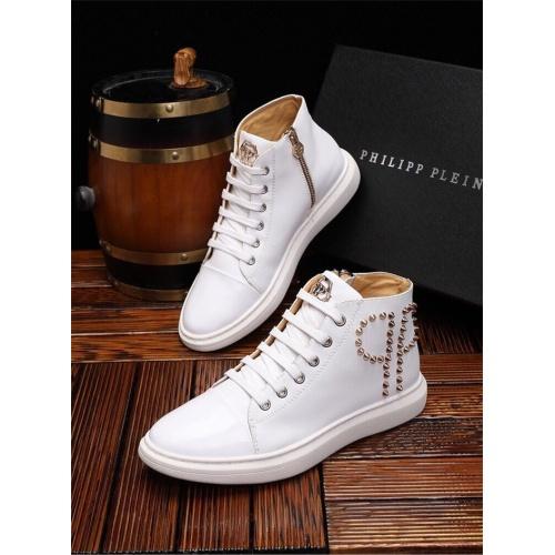 Philipp Plein PP Casual Shoes For Men #825534 $82.00, Wholesale Replica Philipp Plein Shoes