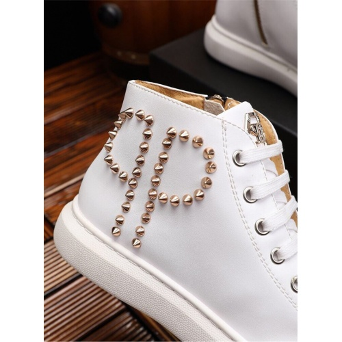 Replica Philipp Plein PP Casual Shoes For Men #825534 $82.00 USD for Wholesale