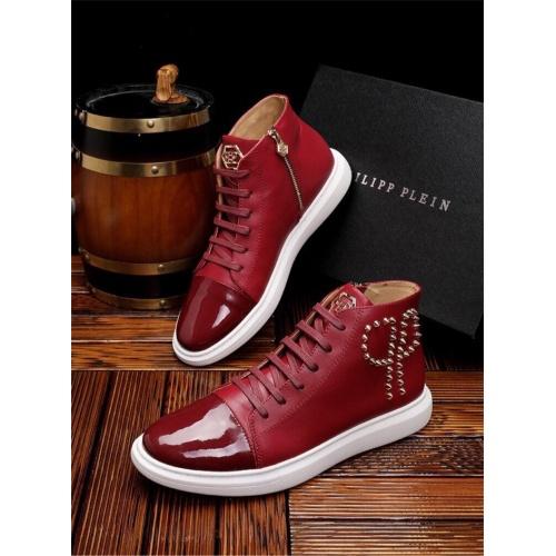 Philipp Plein PP Casual Shoes For Men #825535 $82.00, Wholesale Replica Philipp Plein Shoes