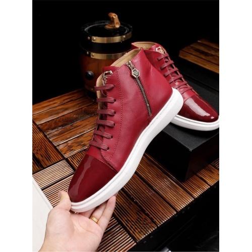 Replica Philipp Plein PP Casual Shoes For Men #825535 $82.00 USD for Wholesale