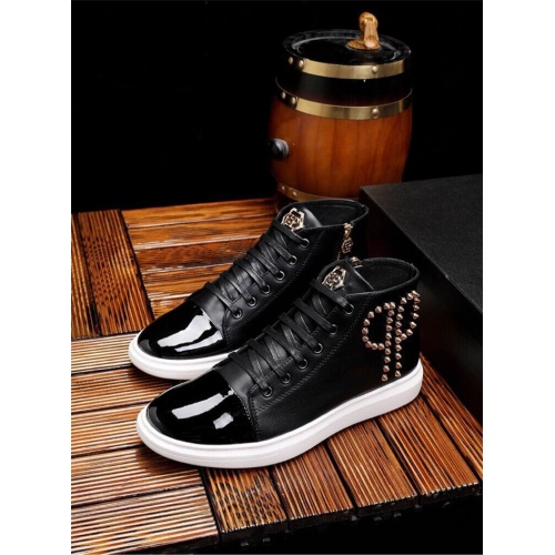 Philipp Plein PP Casual Shoes For Men #825536 $82.00, Wholesale Replica Philipp Plein Shoes