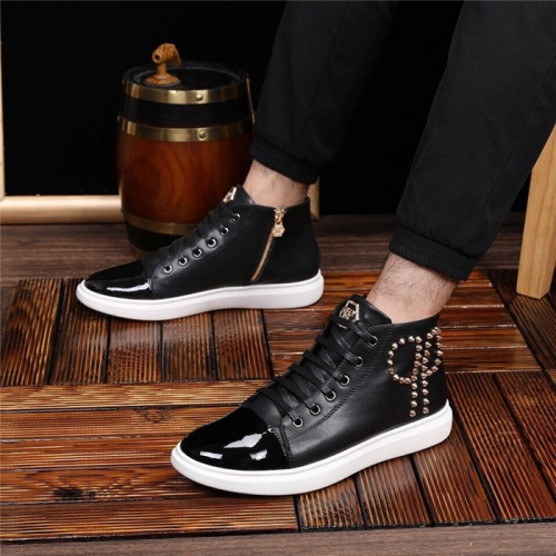 Replica Philipp Plein PP Casual Shoes For Men #825536 $82.00 USD for Wholesale