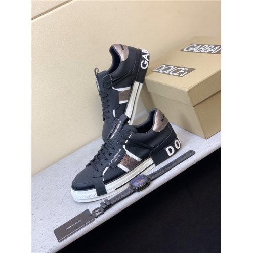 Dolce & Gabbana D&G Casual Shoes For Men #825542