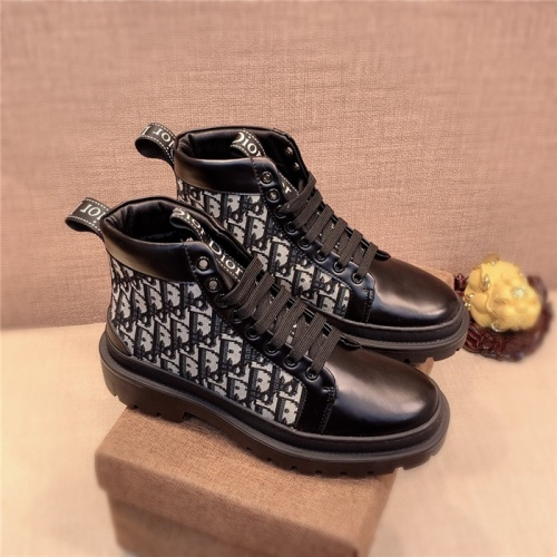 Christian Dior High Tops Shoes For Men #825552