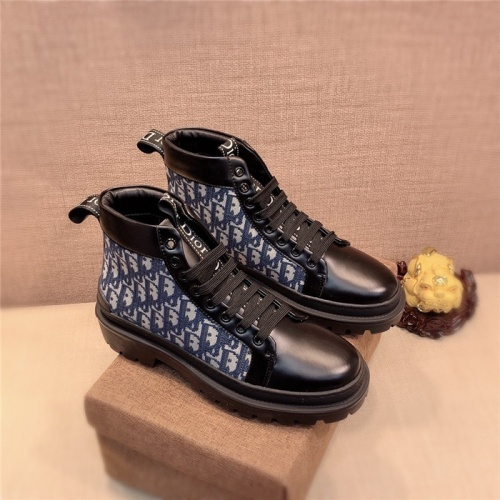 Christian Dior High Tops Shoes For Men #825553