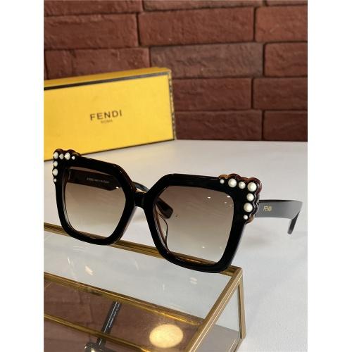 Fendi AAA Quality Sunglasses #825602