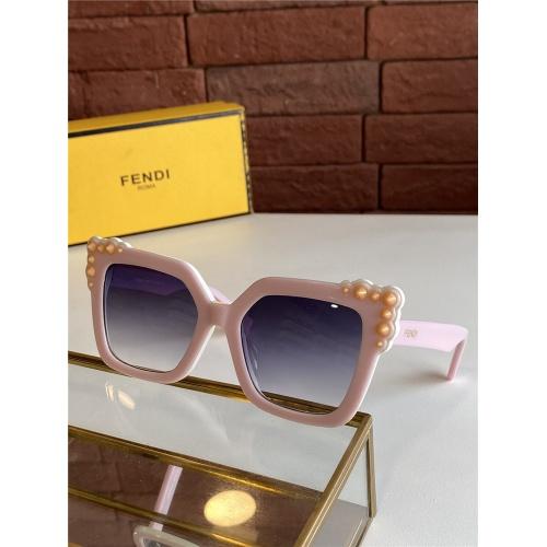 Fendi AAA Quality Sunglasses #825607