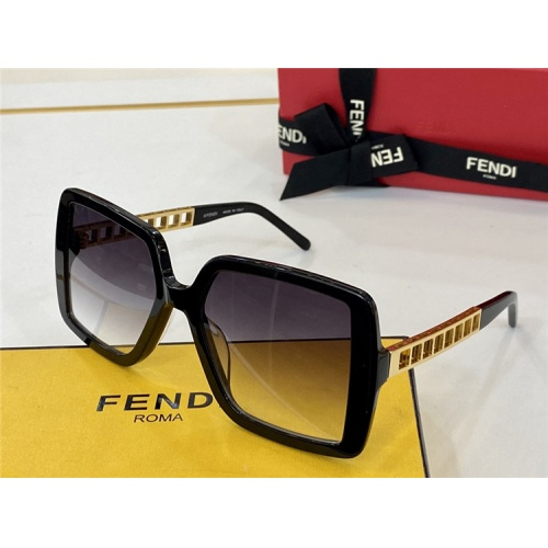 Fendi AAA Quality Sunglasses #825744