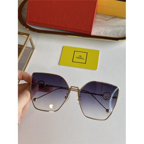 Fendi AAA Quality Sunglasses #825763 $45.00, Wholesale Replica Fendi AAA Sunglasses