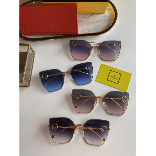 Replica Fendi AAA Quality Sunglasses #825763 $45.00 USD for Wholesale