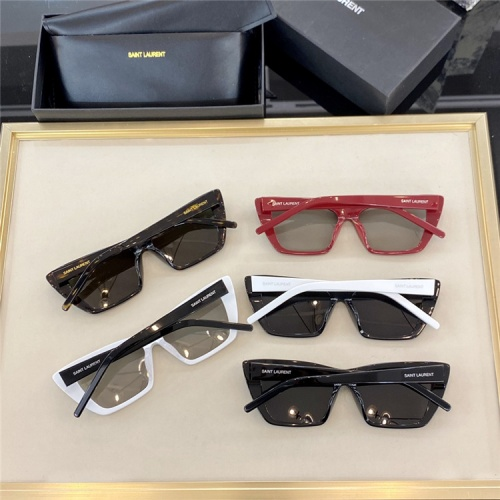 Replica Yves Saint Laurent YSL AAA Quality Sunglassses #825779 $58.00 USD for Wholesale
