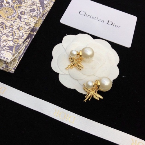 Christian Dior Earrings #825828 $36.00, Wholesale Replica Christian Dior Earrings