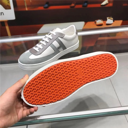 Replica Hermes Casual Shoes For Men #825926 $85.00 USD for Wholesale