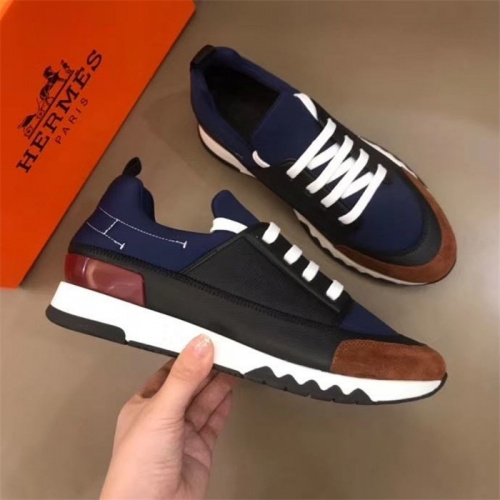 Hermes Casual Shoes For Men #825929 $85.00 USD, Wholesale Replica Hermes Casual Shoes