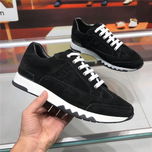Hermes Casual Shoes For Men #825930 $85.00 USD, Wholesale Replica Hermes Casual Shoes