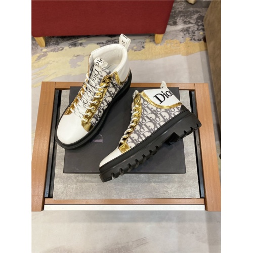 Replica Christian Dior Boots For Men #825939 $76.00 USD for Wholesale