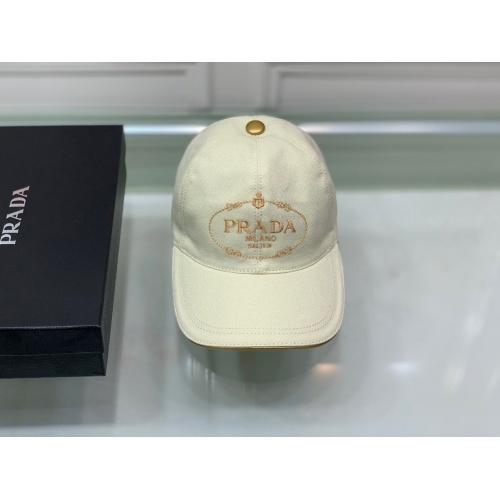 Prada Caps #826143 $36.00 USD, Wholesale Replica Prada Caps