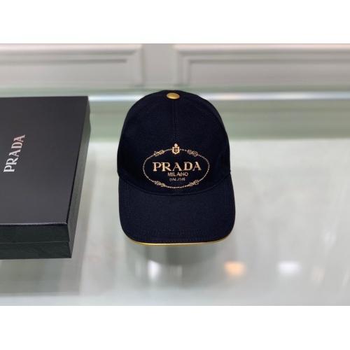 Prada Caps #826147 $36.00 USD, Wholesale Replica Prada Caps