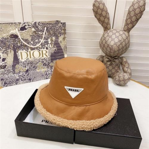 Prada Caps #826151 $36.00 USD, Wholesale Replica Prada Caps